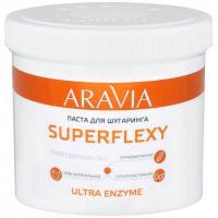 Паста сахарная Aravia Professional Superflexy Ultra Enzyme для депиляции, 750 г