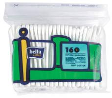 Палочки ватные BELLA, пакет, 160 шт.