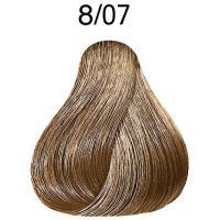 Крем-краска стойкая Londa Color для волос, cветлый блонд натурально-коричневый 8/07