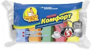 Губки кухонные ФРЕКЕН БОК «Комфорт», 5 шт.