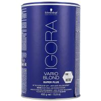 Порошок обесцвечивающий Schwarzkopf professional Igora Vario Blond Super Plus, 450 г
