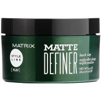 Глина матирующая Matrix Style Link Matte Definer для укладки волос, 100 г