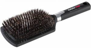 Щетка профессиональная BaByliss PRO Paddle Boar Brush с натуральной щетиной