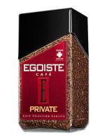Кофе EGOISTE Private сублимированный (Freeze), растворимый, 100 г