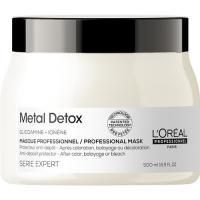 Маска L'Oreal Professionnel Metal Detox для восстановления окрашенных волос, 500 мл