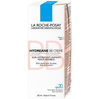 Крем-уход La Roche-Posay Hydreane BB для лица, светлый оттенок, 40 мл