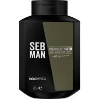 Шампунь SEB MAN THE MULTITASKER 3 в 1 для ухода за волосами, бородой и телом, 250 мл