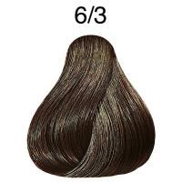 Крем-краска Londa Color интенсивное тонирование для волос, темный блонд золотистый 6/3