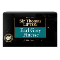 Чай черный ароматизированный Lipton Sir Thomas Earl Grey Finesse в пакетиках, 25 шт.