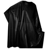 Пеньюар парикмахерский Мой Салон из ПВД, черный, размер 120х160 см, 50 шт