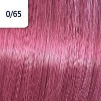 Крем-краска стойкая Wella Professionals Koleston Perfect ME + для волос, 0/65 Фиолетовый махагоновый