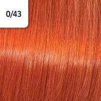 Крем-краска стойкая Wella Professionals Koleston Perfect ME + для волос, 0/43 Красный золотистый